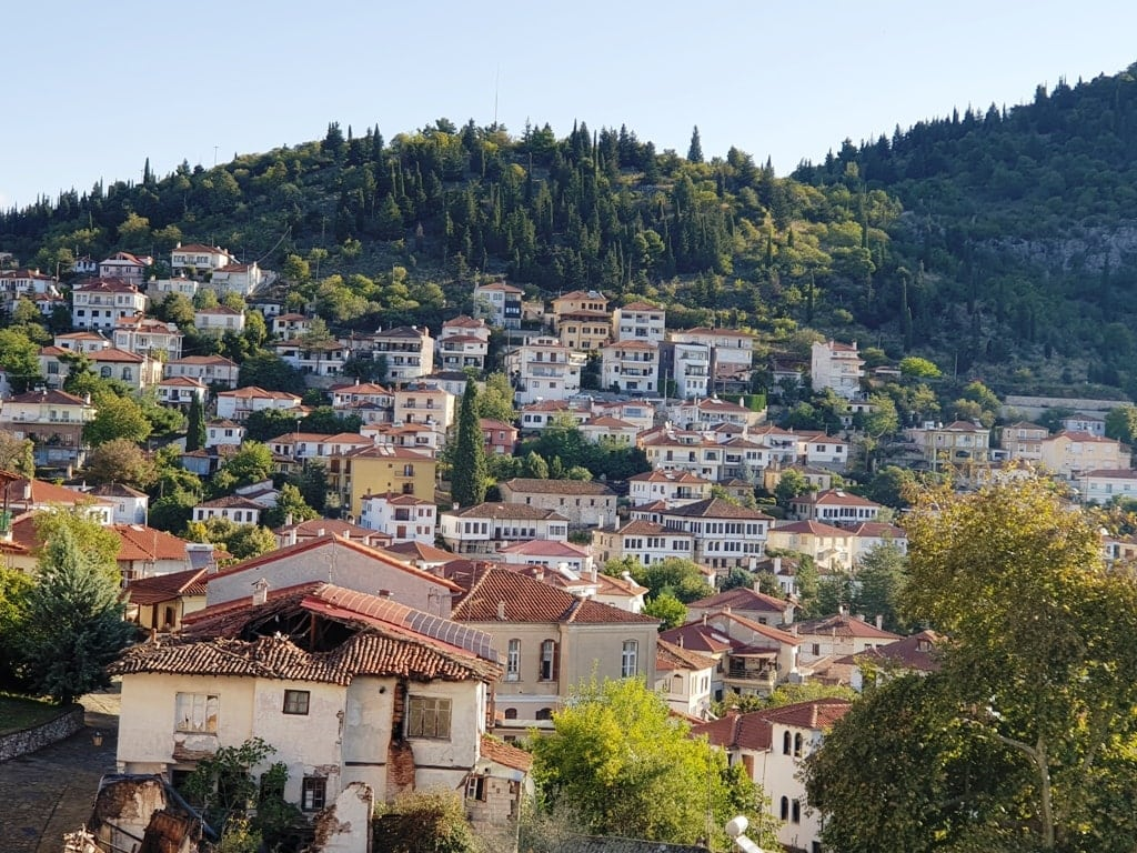 Kastori City in Greece