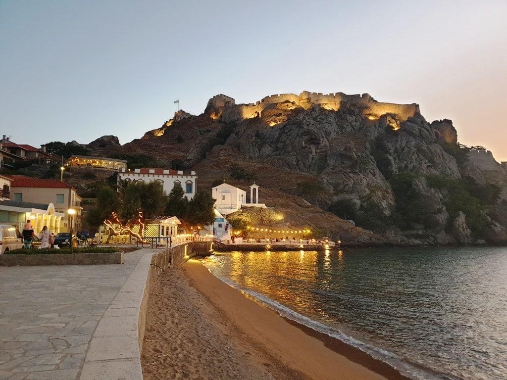 Myrina Lemnos island