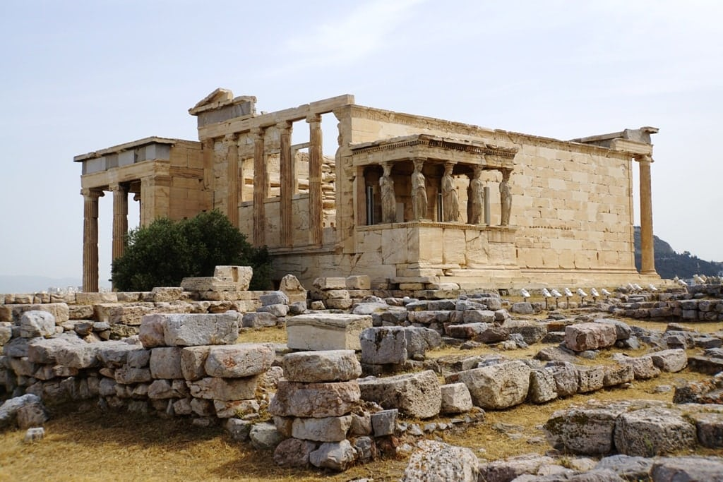 The Acropolis in Athens - 5 days in Greece