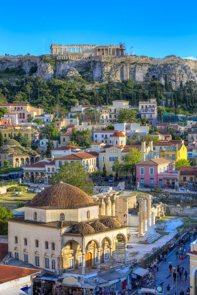 Athens is one of the best places to visit in Greece