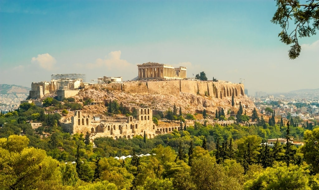 The Acropolis of Athens - Famous Landmarks of Greece