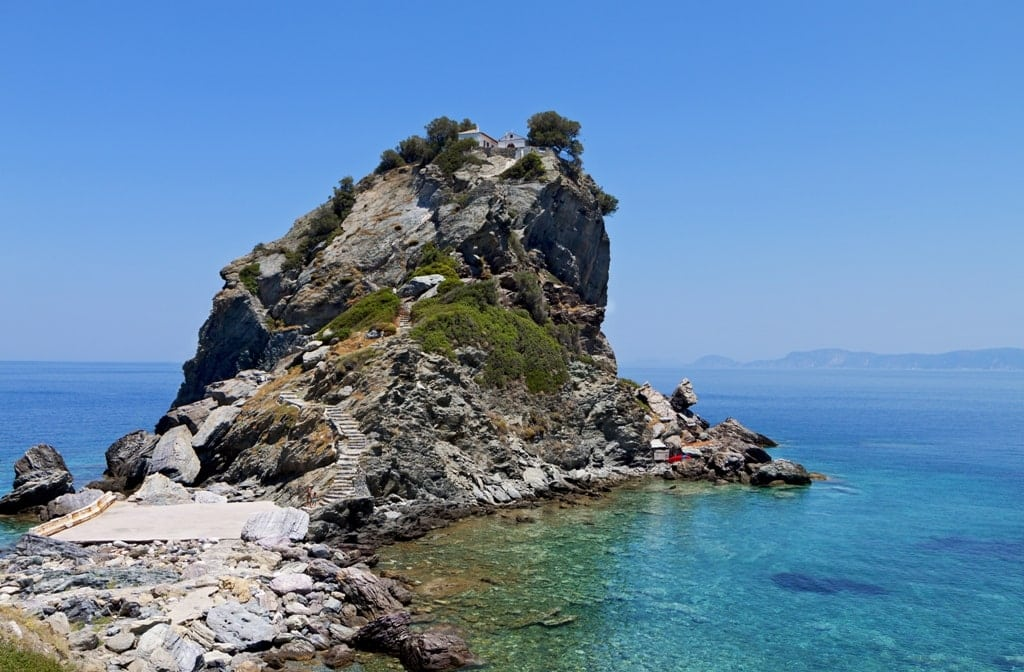 Skopelos Island - part of the Sporades Island Group in Greece