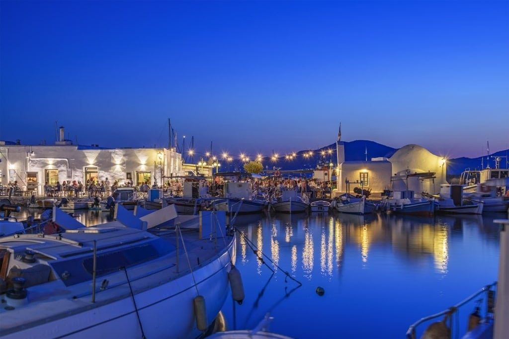 Paros - Best islands in Greece for partying