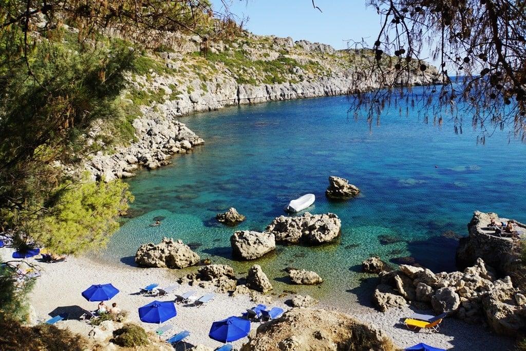rhodes - Greek islands to visit in October
