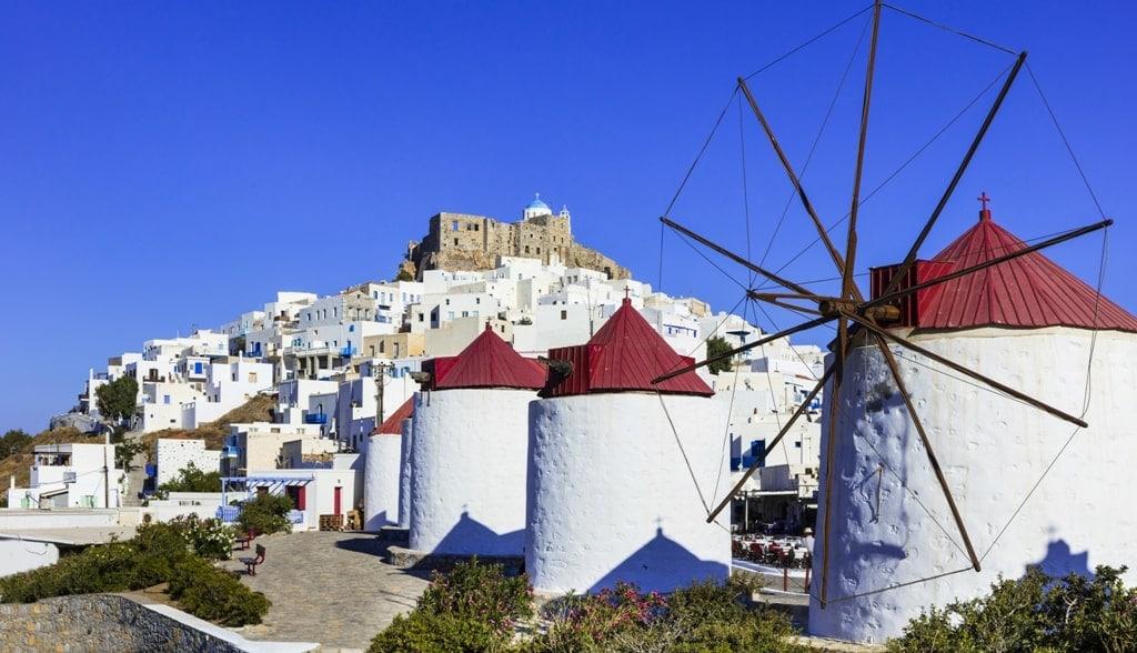 Astypalea belongs to the Dodecanese Group og Greek islands