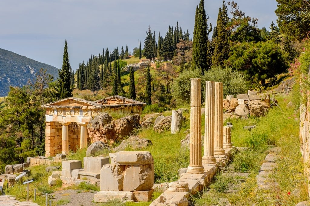 Delphi is an important stop on your 5 day Greece Itinerary