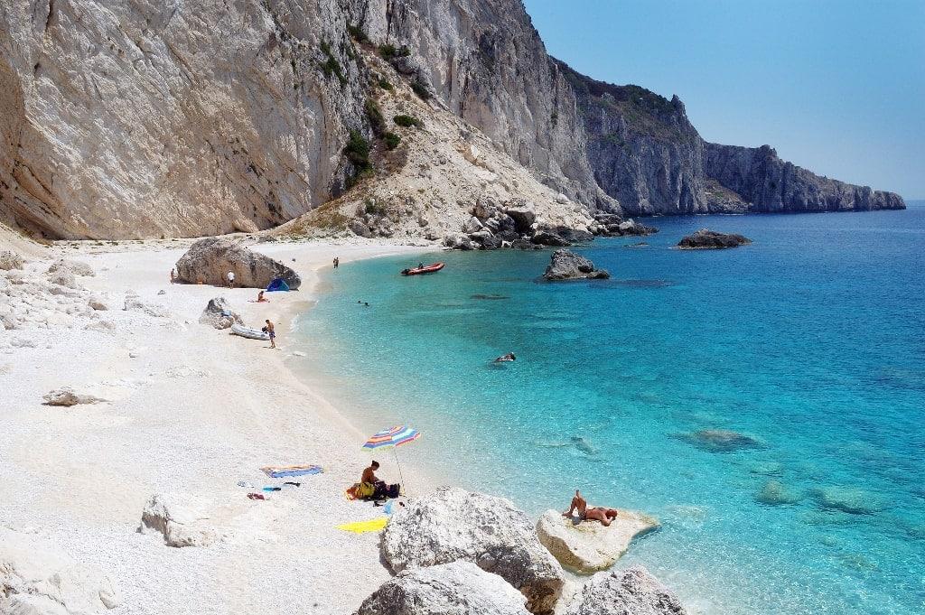 Othoni Island in Greece