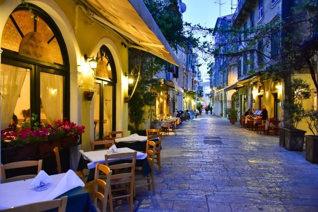 Corfu - best party islands in Greece