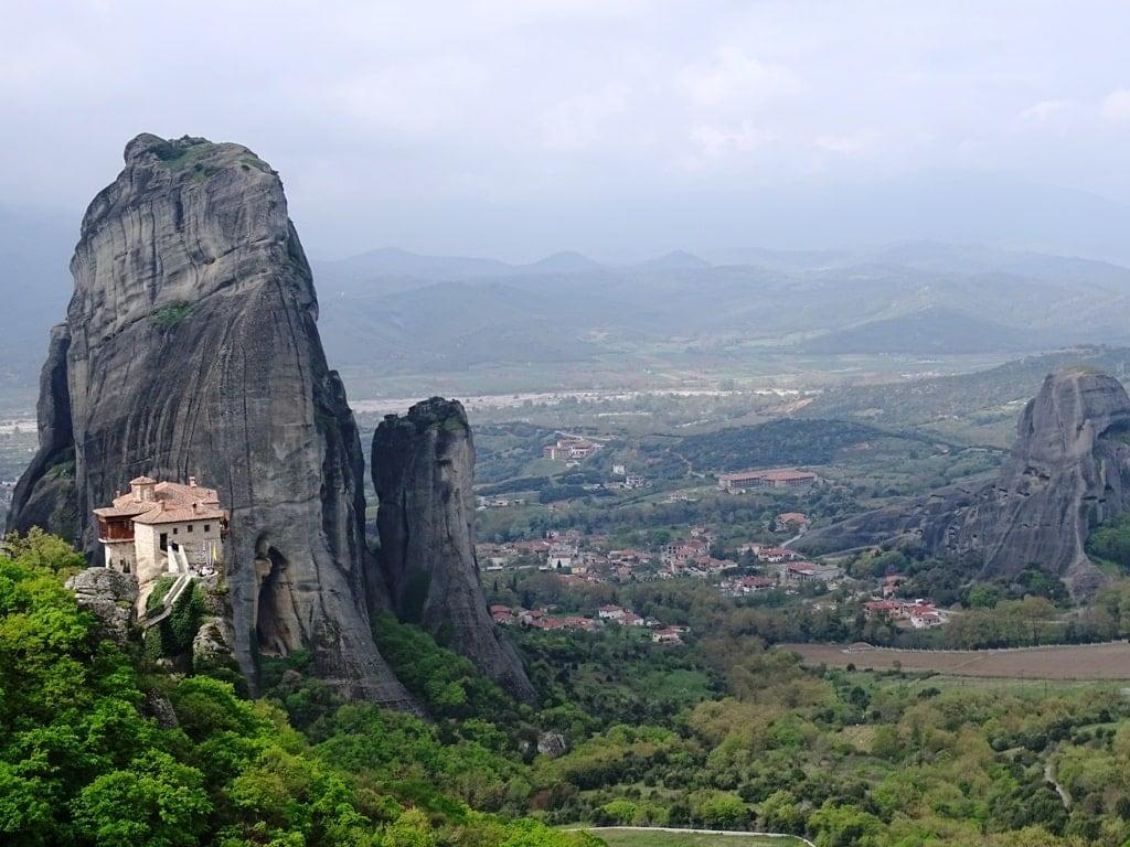 meteora monasteries- landmarks of Greece