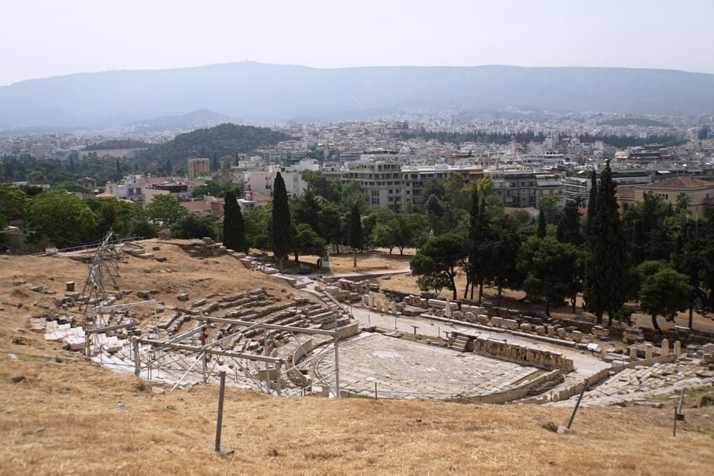 Greece is known for the ancient theatre