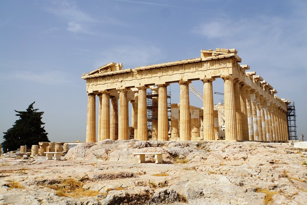 The Acropolis of Athens is one of Greece's most famous landmarks