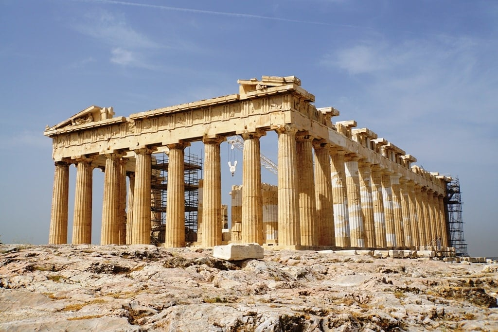 Acropolis of Athens - Greece's UNESCO World Heritage Sites