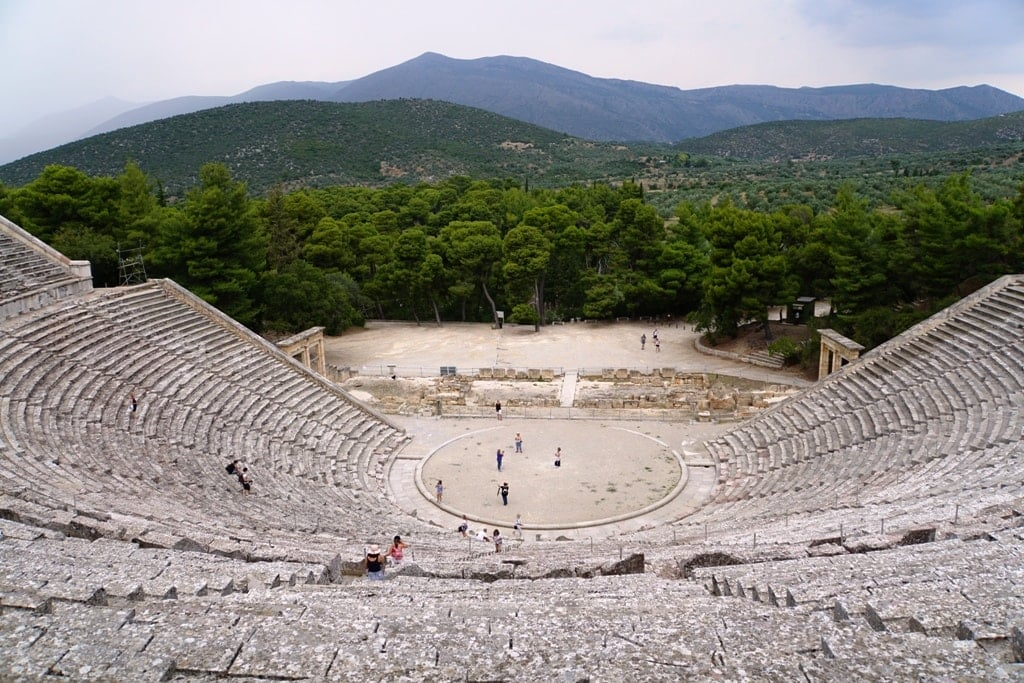 Epidaurus Theatre in Greece
