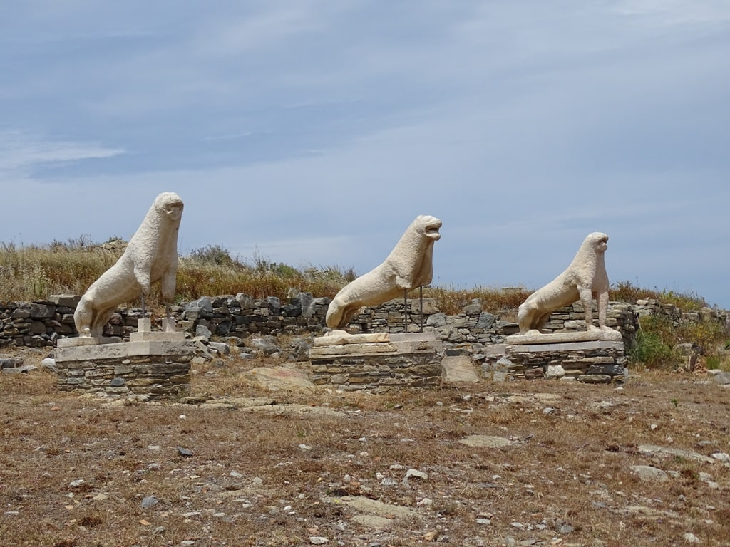 Delos - Unesco World Heritage Site