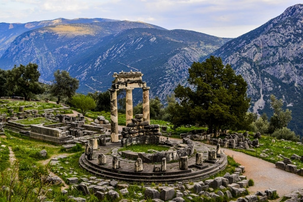 Delphi is a must see in Mainland Greece