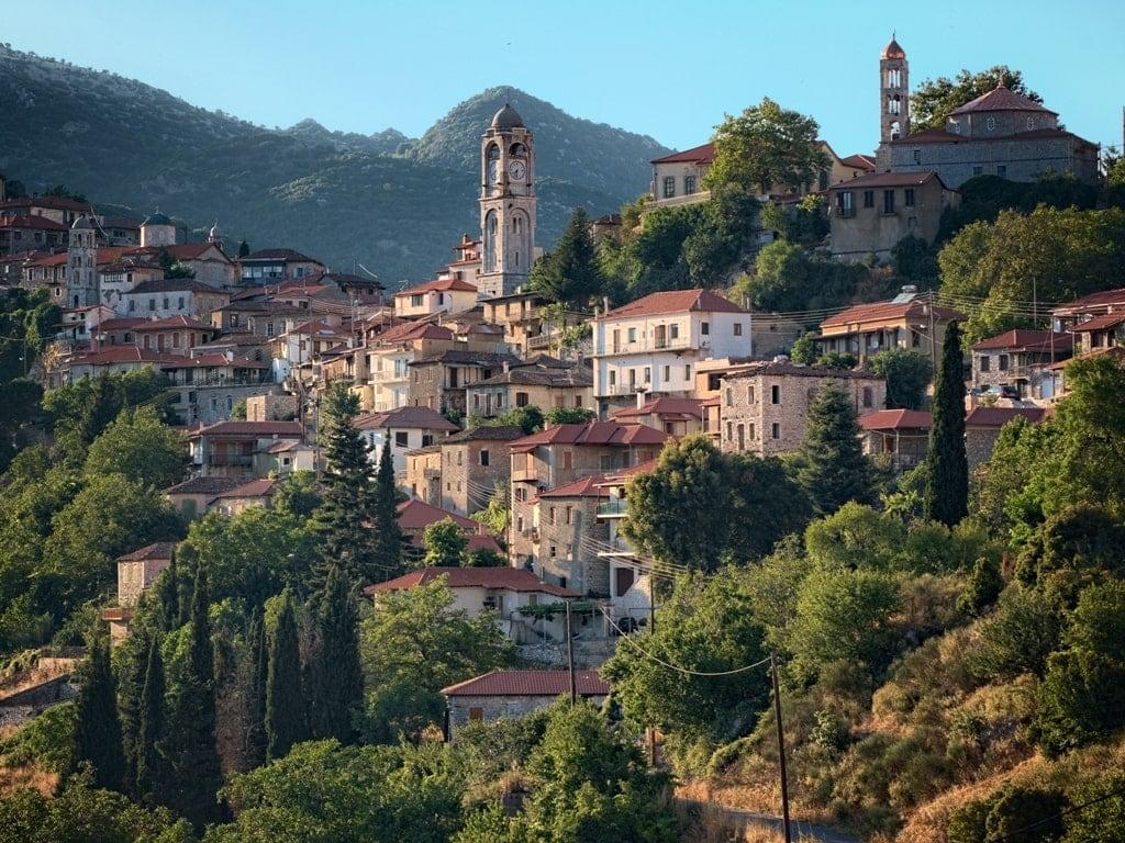 Dimitsana - best villages in Greece