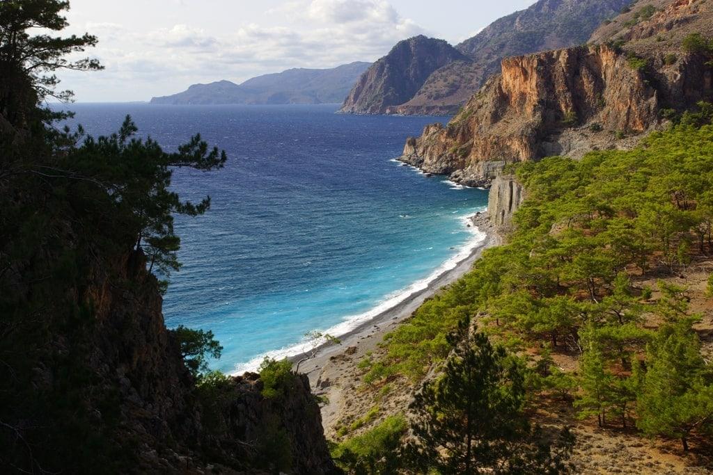 E4 European Walking Path in Crete - Best Greek islands for hiking