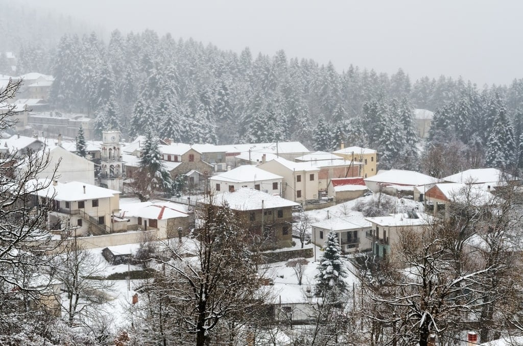 Elati Village in Trikala Greece