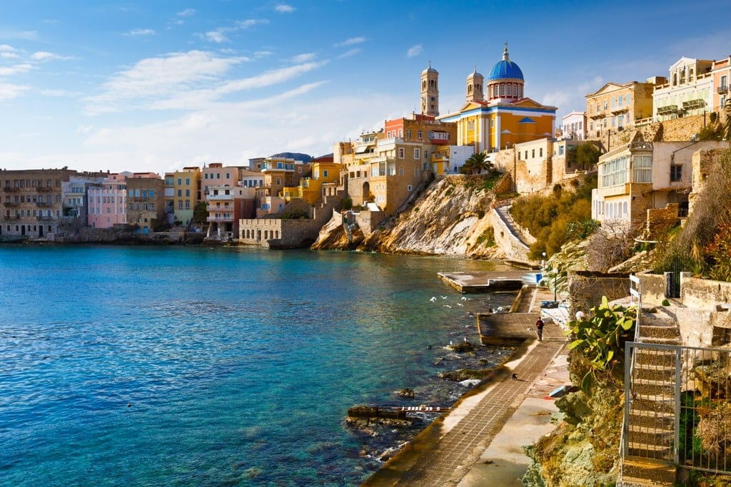 Ermoupoli in Syros - Beautiful Towns in Greece