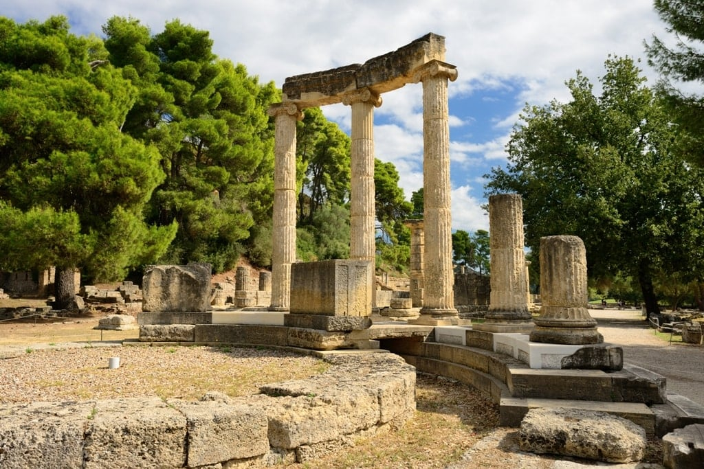 Ancient Olympia Greece - Unesco World Heritage Site