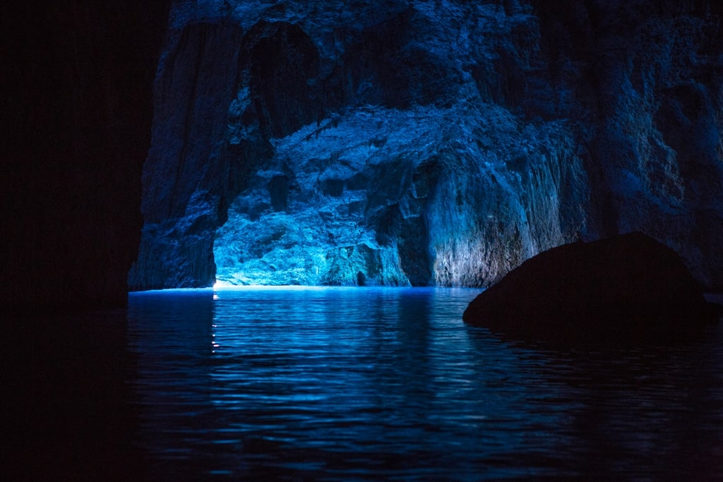 Blue Grotto Kastellorizo Greece