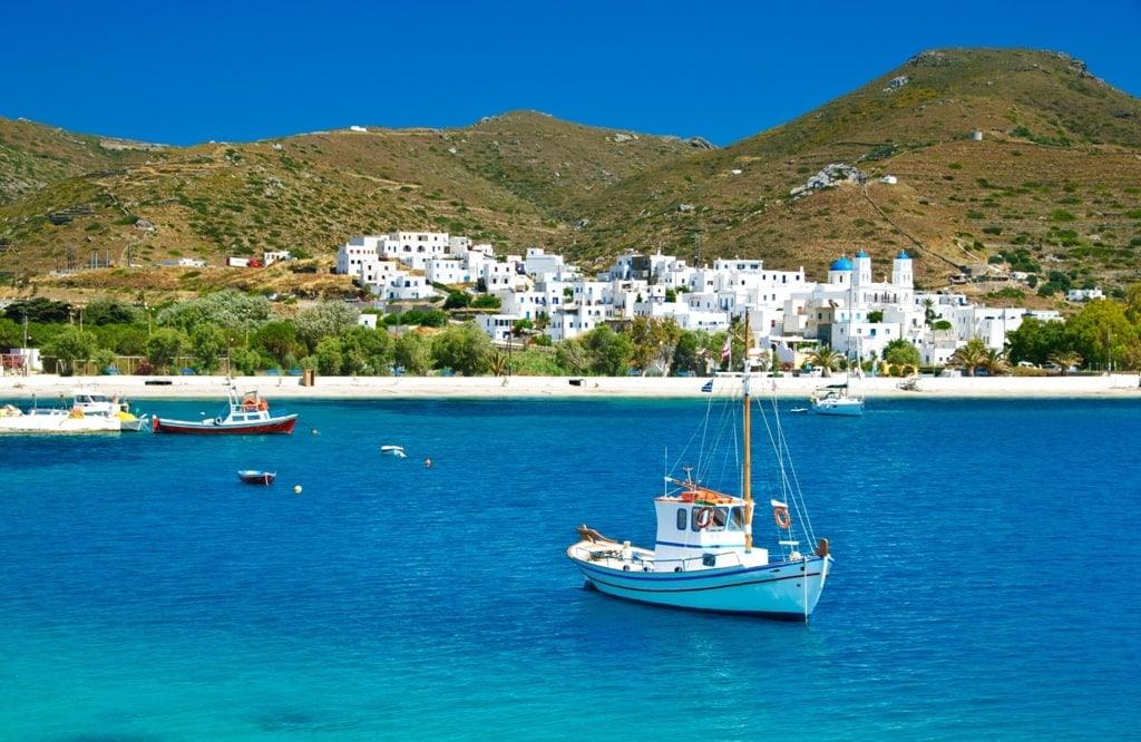 Iraklia - small Greek Island