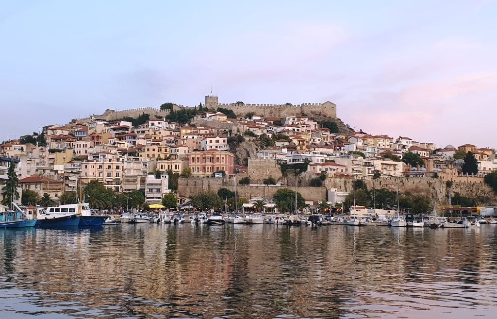 City of Kavala in Mainland Greece