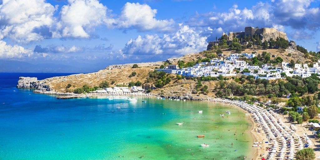 Rhodes island is one of the must see places in Greece