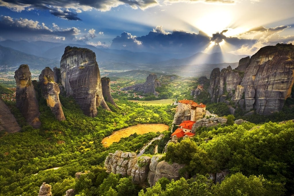Meteora - Landscapes in Greece