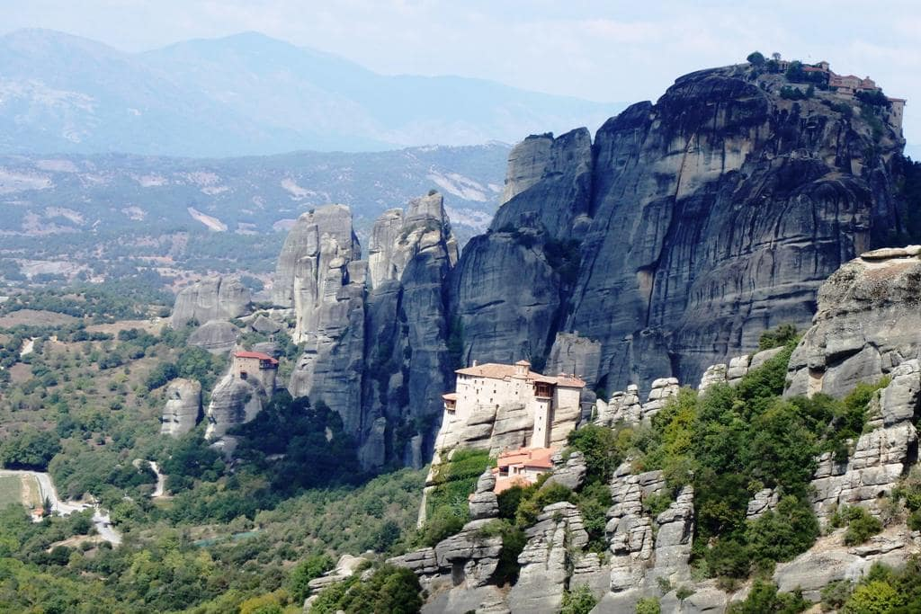 Meteora - Unesco World Heritage site in Greece
