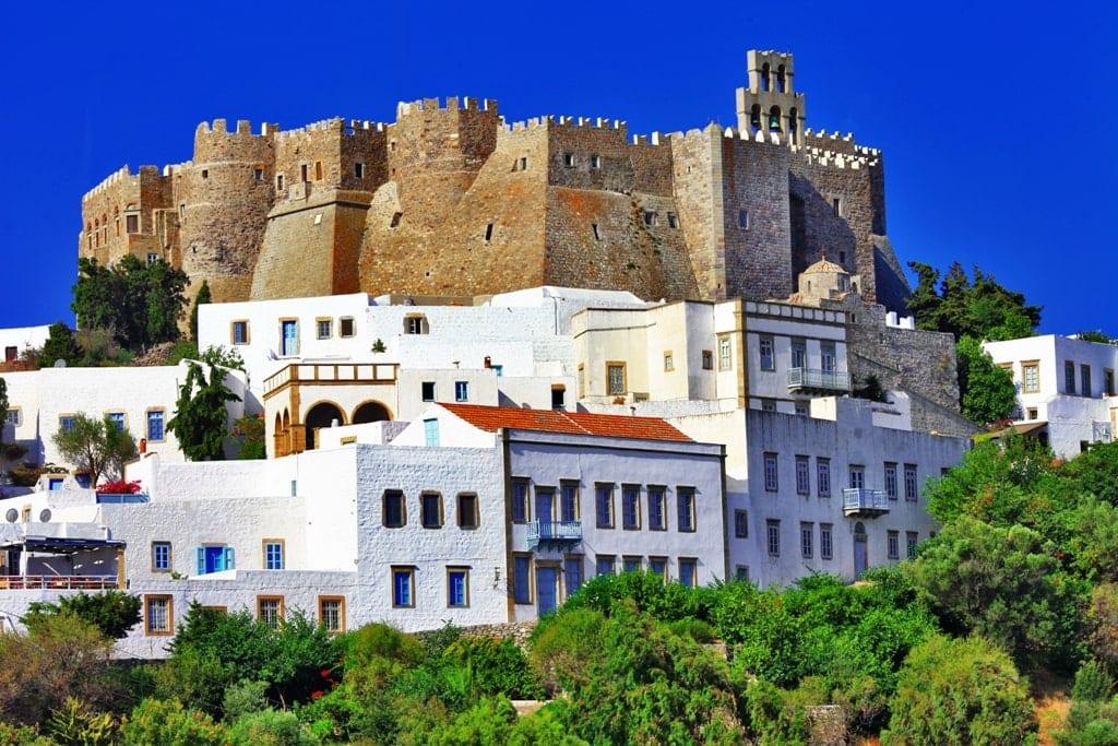 Patmos - Cruise port in Greece