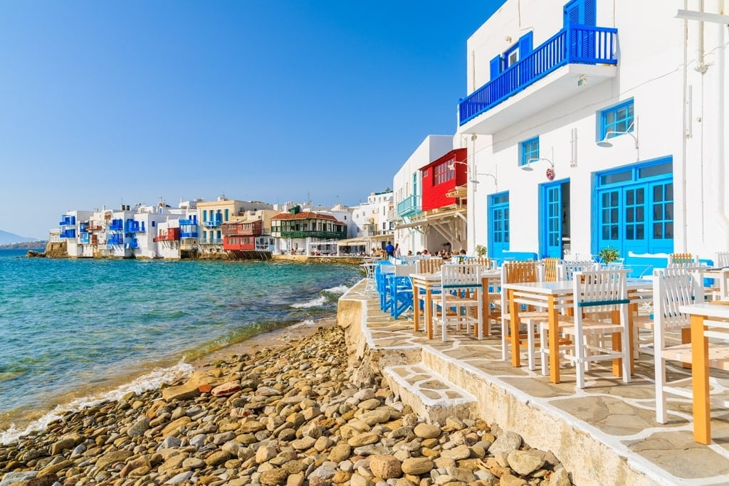 Mykonos - Greek Islands with airports
