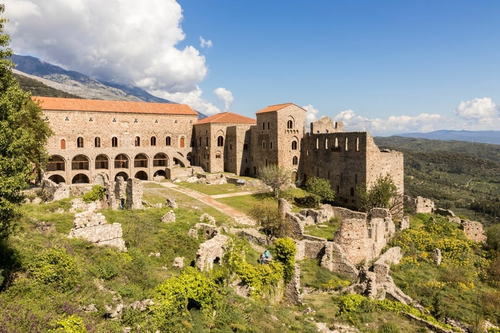 Mystras - world heritage sites in greece