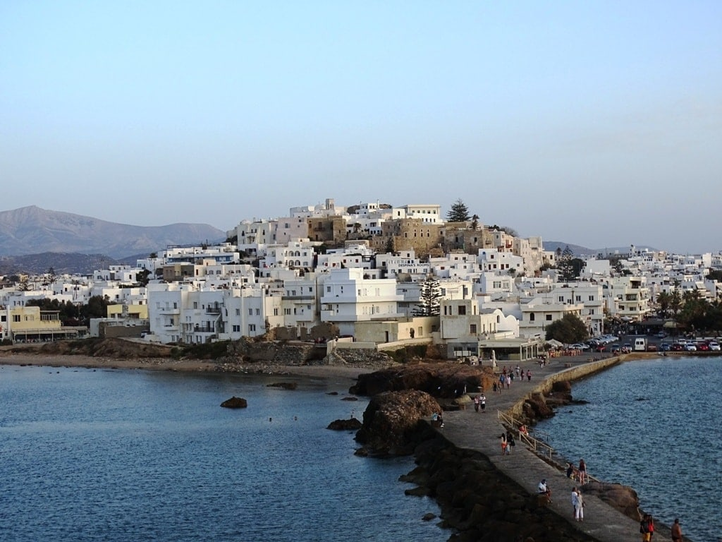 Naxos - islands near Santorini
