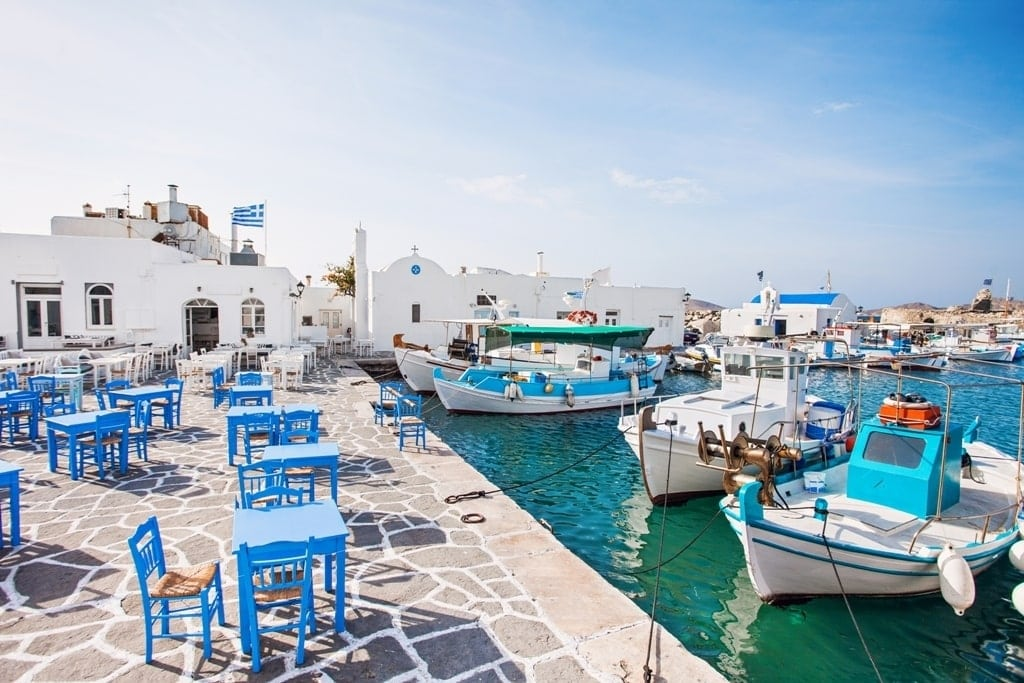 Paros is part of the Cyclades Group of Greek Islands