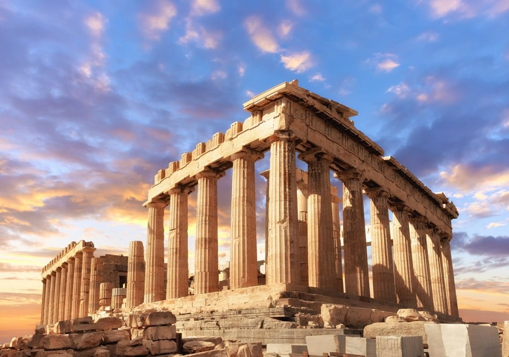 Parthenon Greece - 20 things Greece is famous for