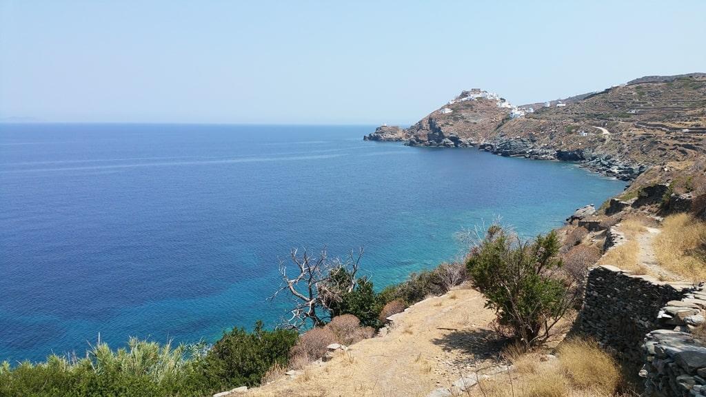 Hiking in Sifnos Island Greece