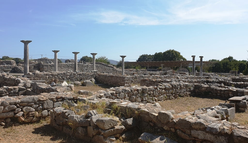Archaeological site of Philippi - unesco sites greece