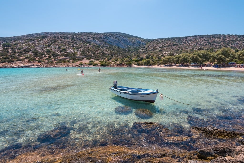 Lipsi - small islands in Greece