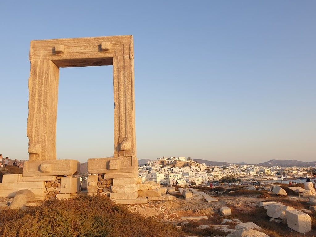 Temple of Apollo in Naxos