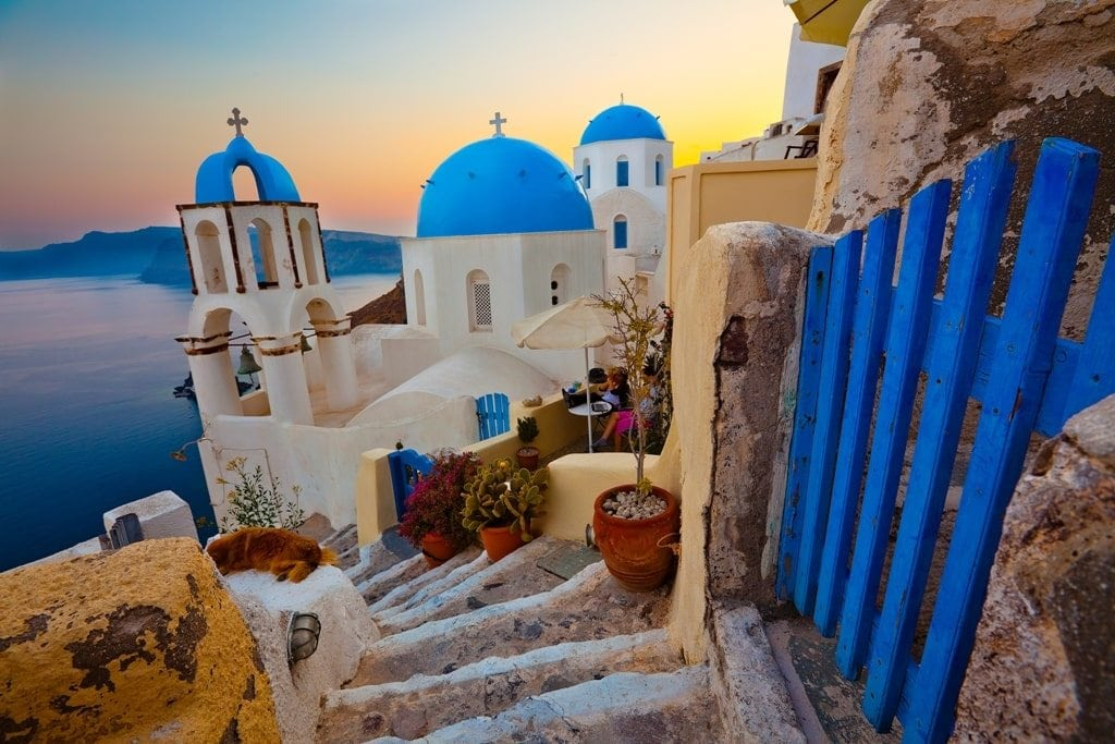 Santorini - Best places to go in Greece