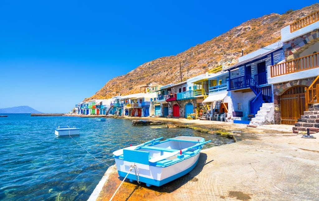 Milos Island Cyclades - Island Hopping in Greece