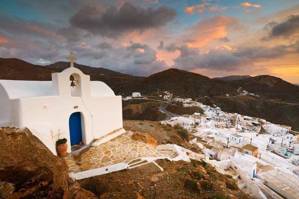 Anafi Island - smallest Greek Islands