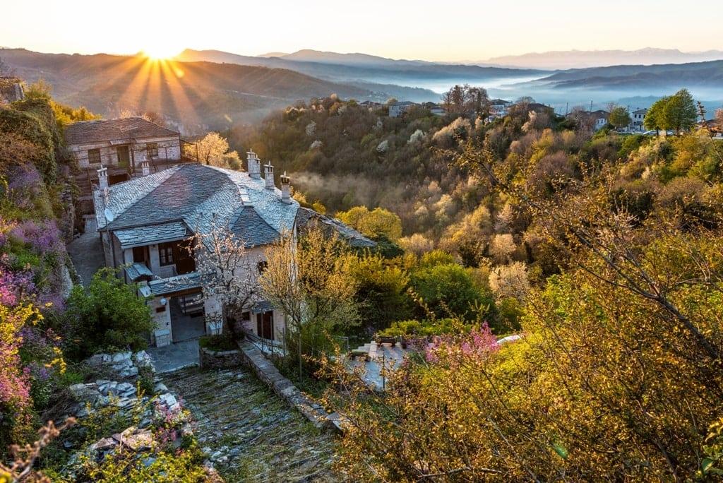 Vitsa Village Zagorohoria - beautiful places in Greece