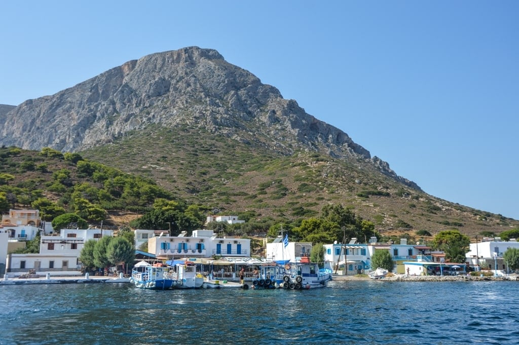 Telendos - small Greek Island