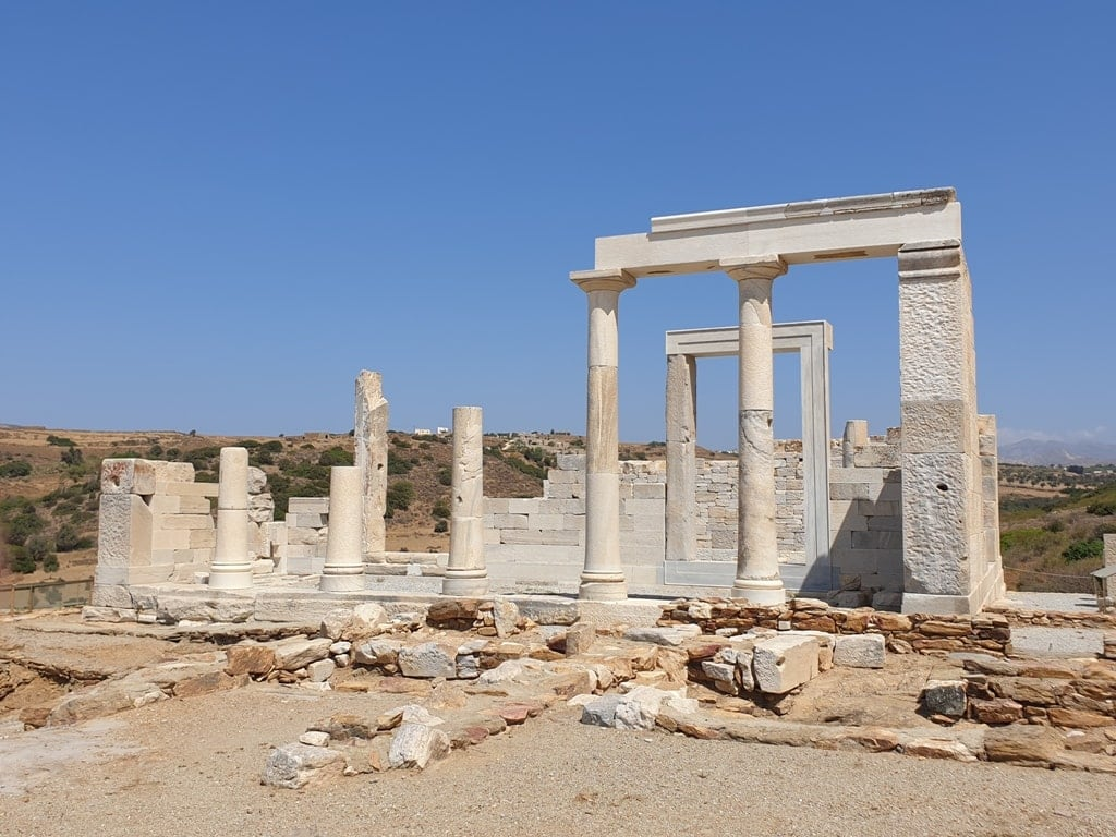 Temple of Demeter Naxos- Greek Ancient Temple