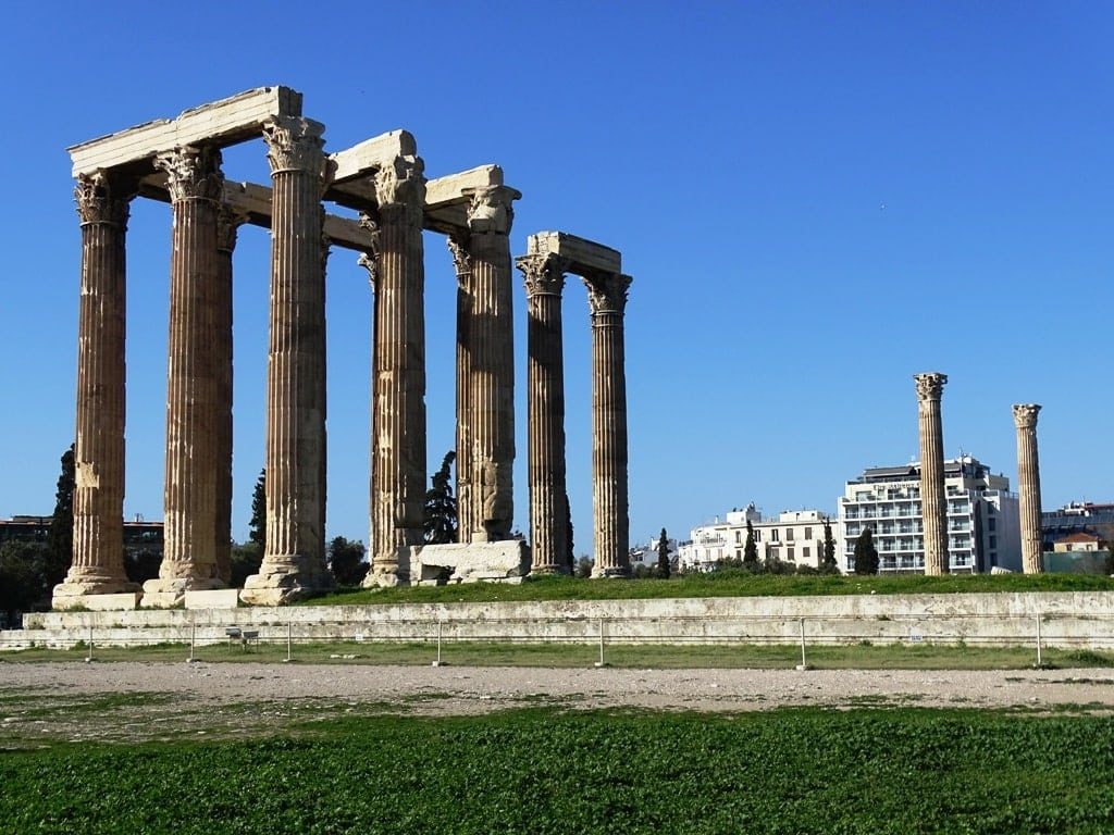 Temple of Olympian Zeus - 5 day Athens itinerary