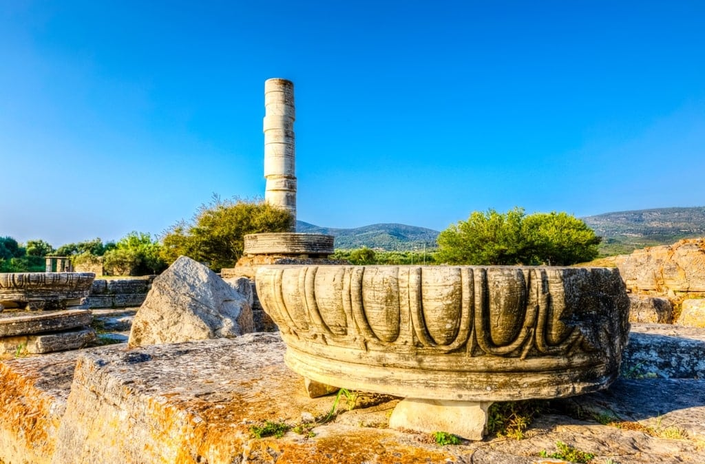 Heraion Of Samos - UNESCO sites in Greece