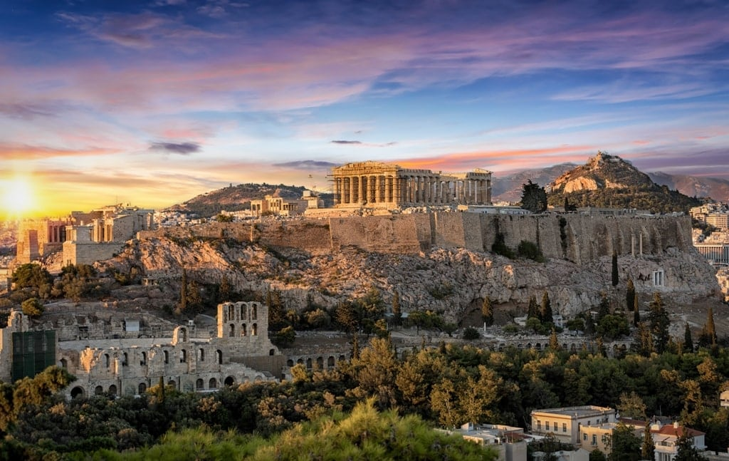 Athens in Mainland Greece
