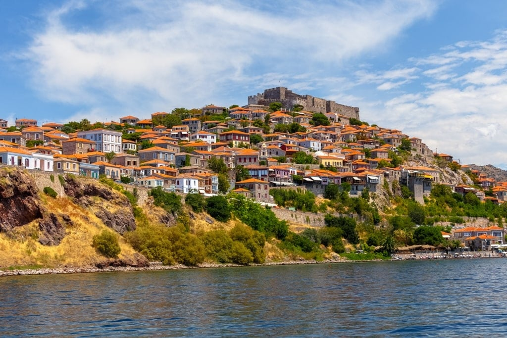 Lesbos is one of the largest islands in Greece